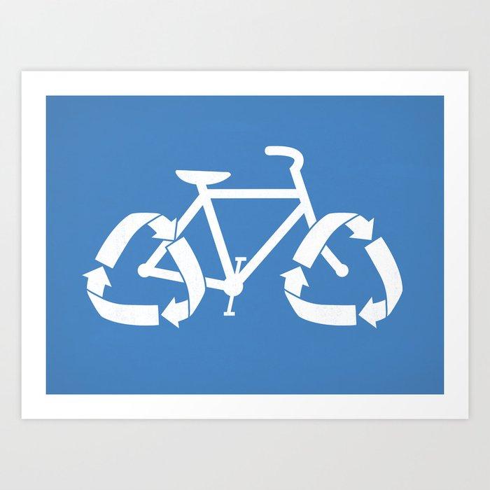 (Re)cycle Art Print