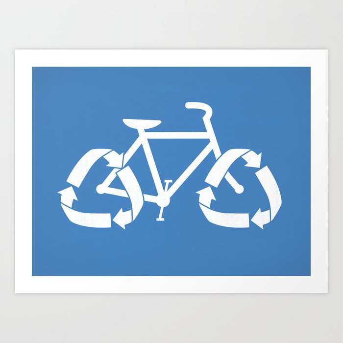 (Re)cycle Art Print