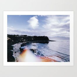 SoCal Cliffs Art Print