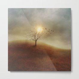 Lone Tree Love I Metal Print