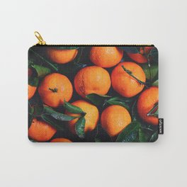 Tropical Poncan Oranges Carry-All Pouch