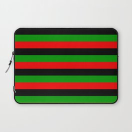 afro american flag stripes Laptop Sleeve