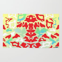 Abstract Organic 1 by Anthea Missy Rug