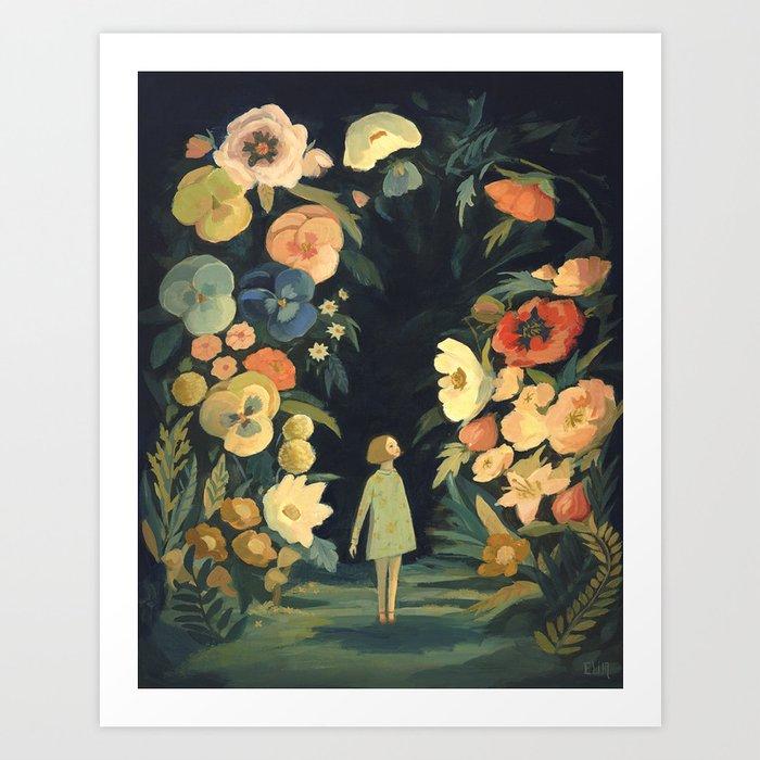 The Night Garden Kunstdrucke