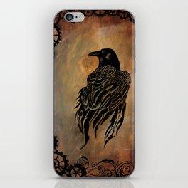 Clockwork Raven iPhone Skin