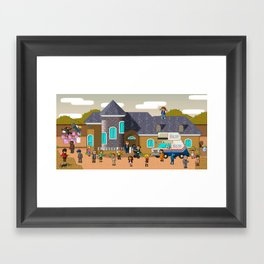 Super Arrested Development  Framed Art Print