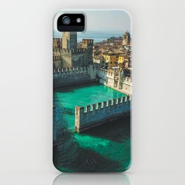 Catle in the water iPhone Case
