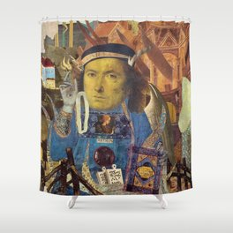 """""""Fire it up!"""" Shower Curtain"""