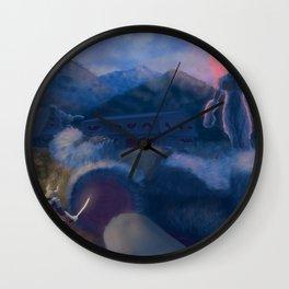 Shirakawa Struggle  Wall Clock
