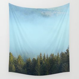 Early Morning Mist Wall Tapestry