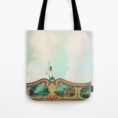 Summer Carousel Tote Bag