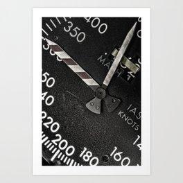 Airspeed Art Print