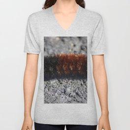 Banded Woolly Bear Caterpillar Unisex V-Neck