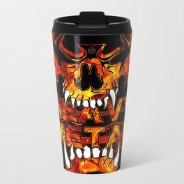 Heavy Metal Metal Travel Mug