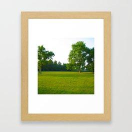 In Deep Silence Framed Art Print