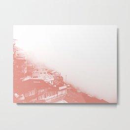 Darjeeling foggy view Metal Print