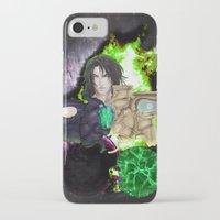 saga iPhone & iPod Cases featuring Legend of Sanctuary Saga by C_Jinebra