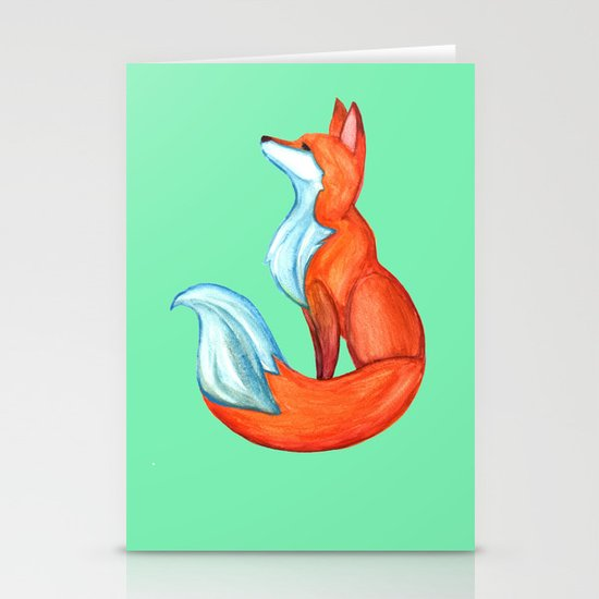 Fox Tale Stationery Cards