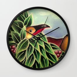 """Untitled 1993"" Wall Clock"