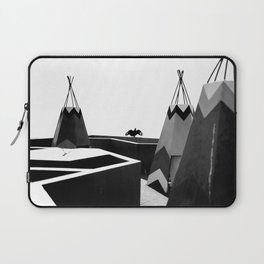 Cabins in BW Laptop Sleeve