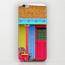Whimsical Beach House iPhone Skin