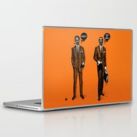 zombies Laptop & iPad Skins featuring HALLOWEEN ZOMBIES by kravic