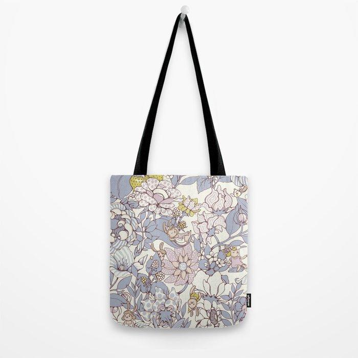 Garden party - jasmine tea version Tote Bag