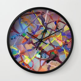 The Tangled Skeins Of Passion Wall Clock
