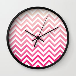 Chevron 23 Wall Clock
