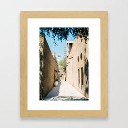 Old Dubai Framed Art Print