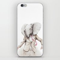 hiphop iPhone & iPod Skins featuring Elephant Dance by Moose van Papendorp