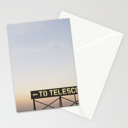 TO TELESCOPE Stationery Cards