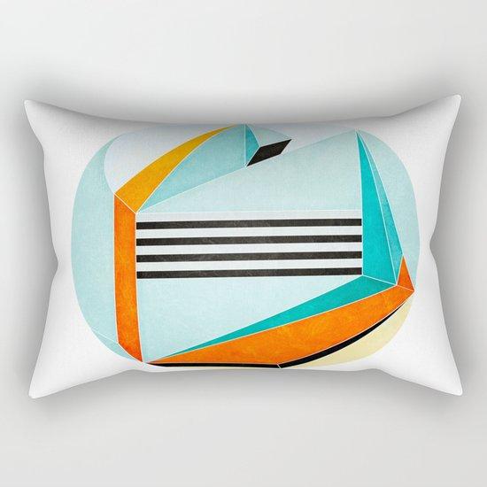 Stand Between and Listen Rectangular Pillow