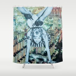 Creature of the NIght Shower Curtain