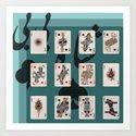 Persian Playing Cards by neginkhatoun