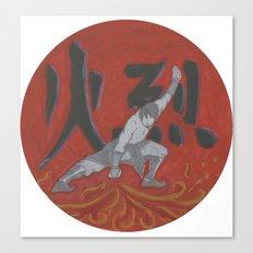 Firebender, Avatar: TLA Canvas Print