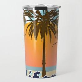 California Vintage Style Retro Cali Travel Souvenir  Travel Mug