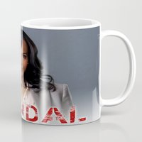 scandal Mugs featuring SCANDAL by I Love Decor