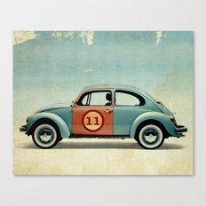 number 11 Bug Canvas Print