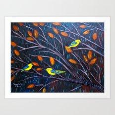 Dark Storm Art Print