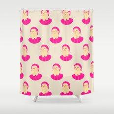 I am shy Shower Curtain