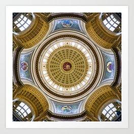 Madison Capitol Dome Art Print