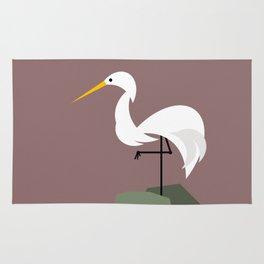 Standing Stork Rug