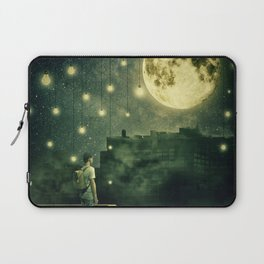 rooftops mystery night Laptop Sleeve