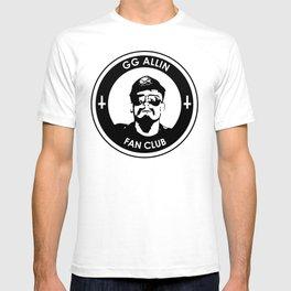 GG Allin Fan Club T-shirt