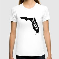 florida T-shirts featuring Florida Yall by Spooky Dooky