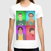 big bang T-shirts featuring The Big Bang Theory by Tom Storrer