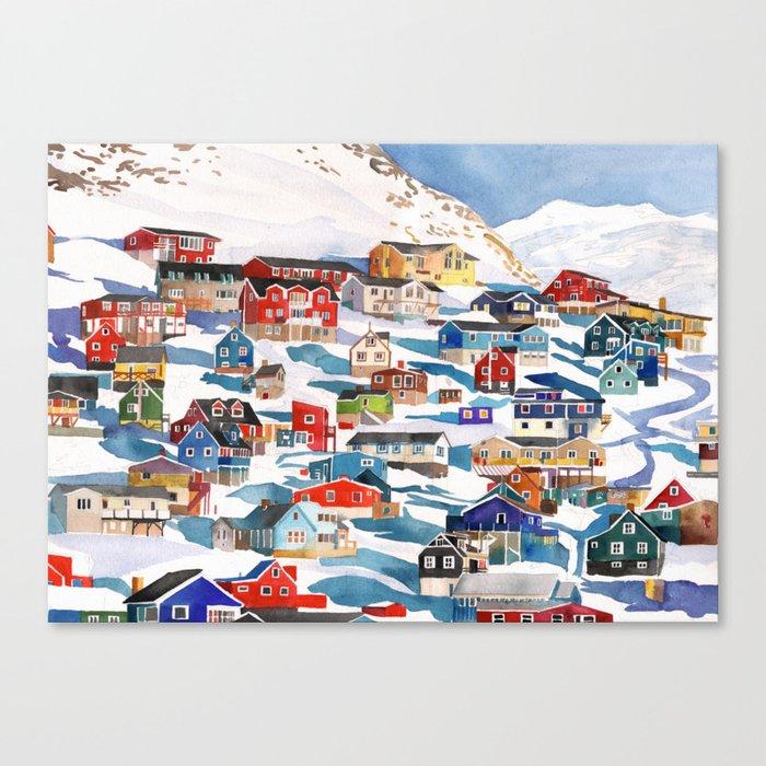 Qaqortoq Leinwanddruck