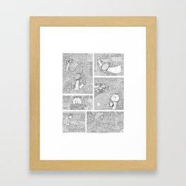 Subtext Framed Art Print