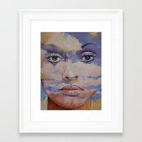 mona lisa Framed Art Prints featuring Mona Lisa by Michael Creese
